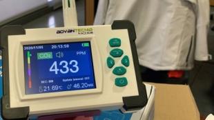 La Diputación de Badajoz contará en sus instalaciones con medidores de CO2
