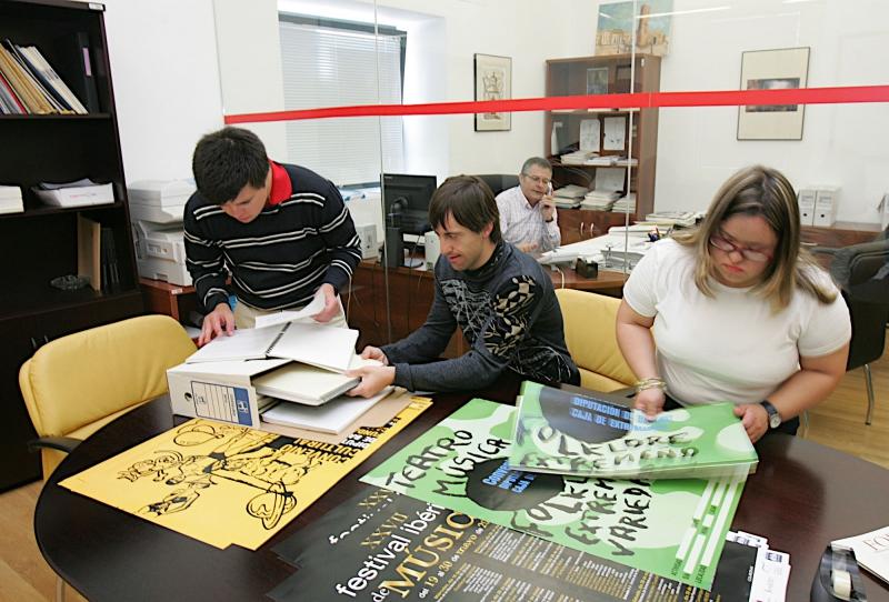 Se suspende el primer ejercicio de Auxiliar de Administración General, turno de discapacidad intelectual, en la Diputación