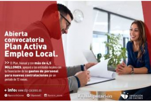Abierta la convocatoria del Plan Activa Empleo Local