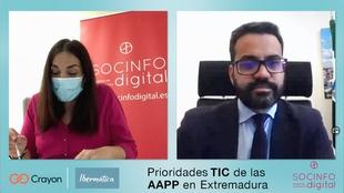 Manuel J. González Andrade interviene en la jornada virtual de 'Prioridades TIC de las AAPP en Extremadura'
