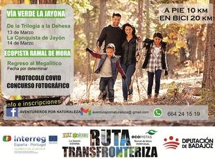 Organizan tres rutas transfronterizas en el marco de las Vías Verdes y Ecopistas