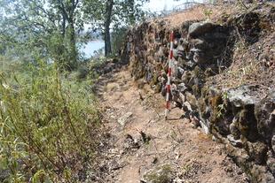 Comienzan las excavaciones arqueológicas en el yacimiento de Castillejo, en Villasbuenas de Gata