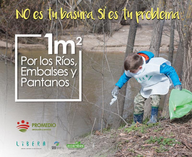 Convocatoria de voluntariado para limpiar basura de riberas de ríos y embalses en doce localidades