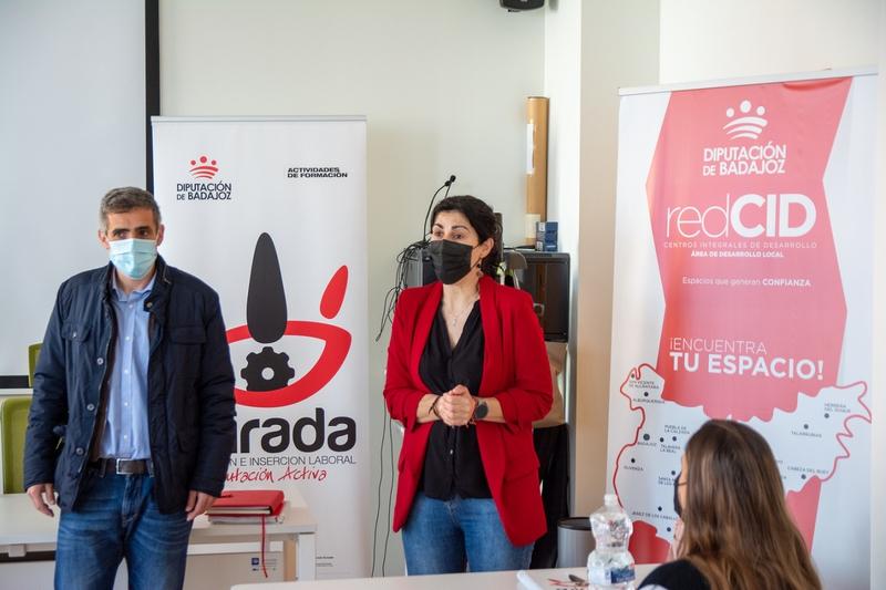 Se inicia en Guareña una acción formativa de ''Atención sociosanitaria a personas dependientes en instituciones sociales''
