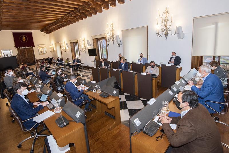 El Pleno de la Diputación aprueba 6.000.000 de euros para el Plan de Cooperación Económica Municipal