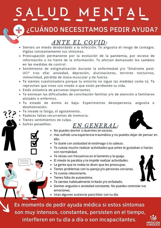 La Diputación de Badajoz protege la salud mental de manera preventiva