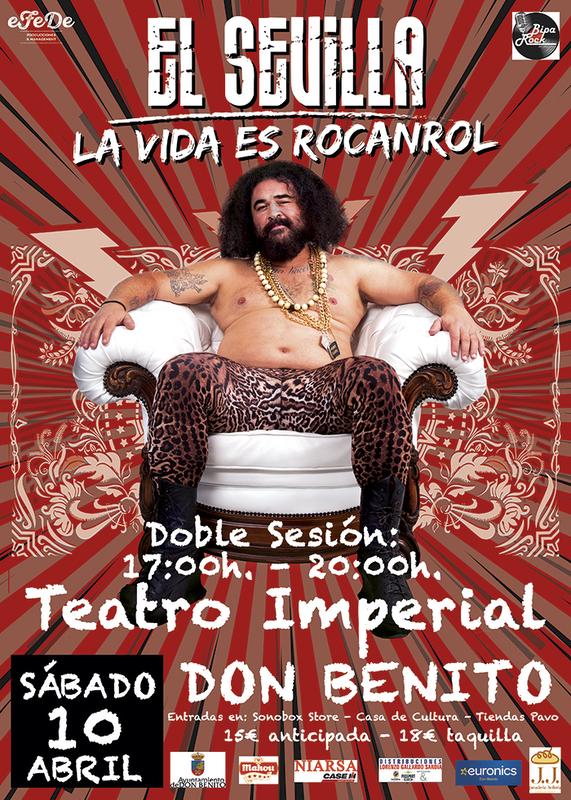 Este sábado se celebra un concierto de El Sevilla en Don Benito