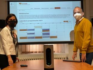 Diputación de Cáceres abre un Canal de Webinarios para los empleados y cargos públicos de la provincia
