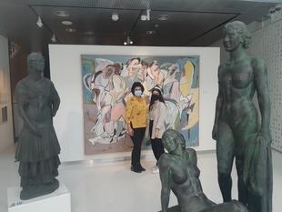 Estudiantes universitarias harán prácticas en el Museo Provincial de Bellas Artes