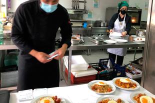 Alumnos y alumnas del Tajo Internacional se acercan a la gastronomía y riqueza culinaria de esta Reserva de la Biosfera