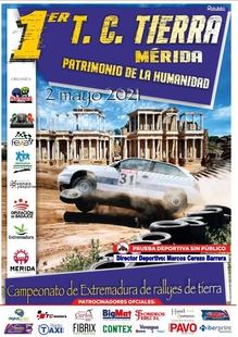 El Campeonato de Extremadura de Rallyes de Tierra se celebrará el próximo domingo en Mérida