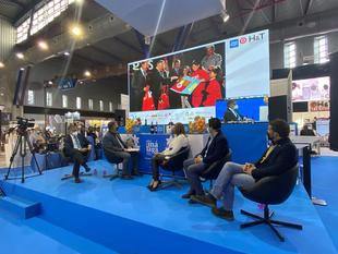 La Diputación de Badajoz presenta en Málaga su modelo de promoción de productos locales de la provincia