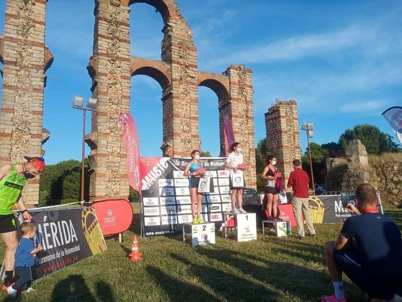 Mérida inauguró el circuito de pruebas Music Run de la Diputación