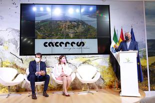 La Diputación de Cáceres presenta en FITUR la provincia como Destino Turístico Sostenible