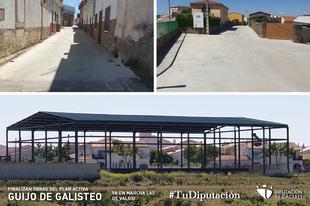 Finalizadas las obras del Plan Activa en Guijo de Galisteo y en marcha las de Valrío