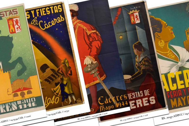 Un viaje a la historia de la Feria de Mayo de Cáceres, a través de la exposición del programa Hablan nuestros documentos