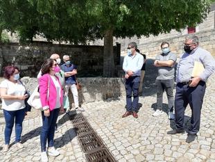 Representantes de Conjuntos Históricos de la provincia de Badajoz intercambian experiencias con las Aldeias Históricas de Portugal