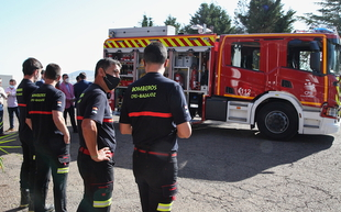 La Diputación invierte 400.000 euros en la adquisición de un nuevo camión autobomba