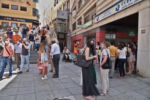 Concluye con éxito el simulacro de evacuación de los tres edificios del Palacio Provincial, sede de la Diputación de Badajoz