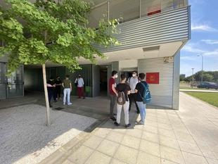 El alumnado de la Escuela Virgen de Guadalupe de Badajoz aprende programación de la mano del centro Fiware Space