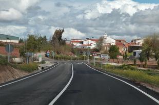 Corte de tráfico en la Carretera Provincial BA-055, Corte de Peleas a Torre de Miguel Sesmero por Entrín Bajo