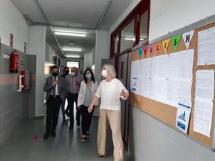 Esther Gutiérrez destaca el esfuerzo de la Junta de Extremadura en la mejora de la red de centros educativos de Villanueva de la Serena
