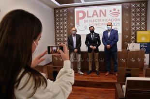 La Diputación destina 2 millones de euros para su Plan de Infraestructuras Eléctricas Municipal