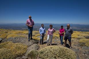La Diputación llevará a cabo las últimas intervenciones para que Pico Pitolero, sea un punto de referencia para la práctica del parapente