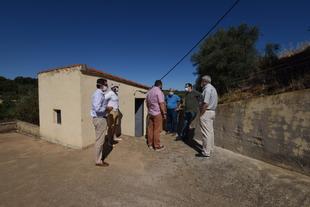 La Diputación de Cáceres estudia la problemática del abastecimiento de agua potable en Romangordo