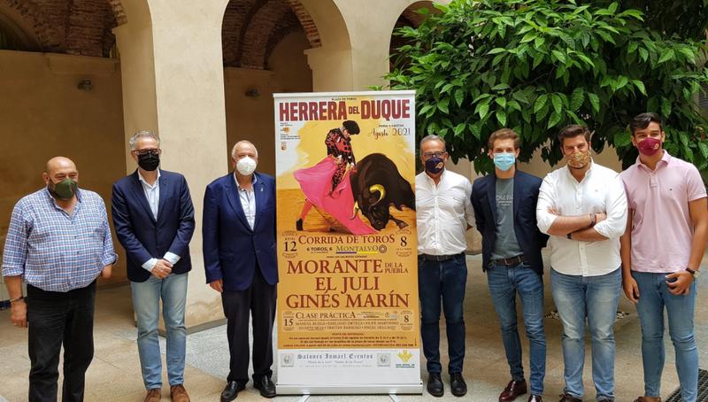 Morante de la Puebla, El Juli y Ginés Marín componen el cartel de la Feria Taurina de Herrera del Duque