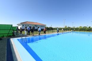 La Diputación de Cáceres pone en marcha la piscina municipal de Aldehuela del Jerte tras 18 años en obras
