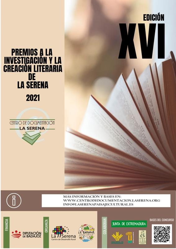 Convocada la XVI edición de los Premios a la Investigación y la Creación Literaria de La Serena