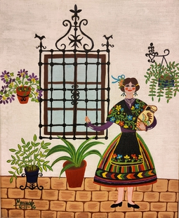Los herederos de la pintora Mercedes Barba donan varias obras al MUBA