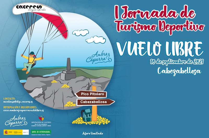 Abierto el plazo para inscribirse en la 'I Jornada de Turismo Deportivo: Vuelo libre', que se celebrará en Cabezabellosa el 10 de septiembre