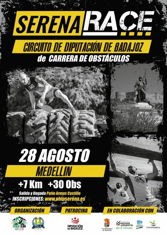 Medellín, segunda prueba del Circuito Diputación de Badajoz de Carreras de Obstáculos