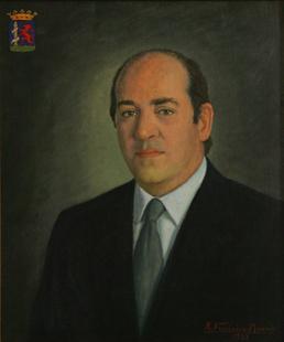 Luciano Pérez de Acevedo y Amo, Presidente de la Diputación de Badajoz