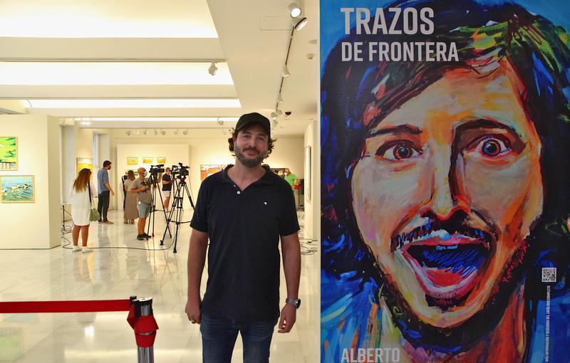 Escenas cotidianas sostienen la exposición pictórica
