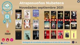 Las últimas obras de Fernando Aramburu, Julia Navarro o Arturo Pérez-Reverte ya en el Catálogo Nubeteca