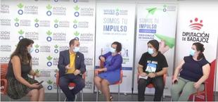 La Diputación de Badajoz y Acción Contra el Hambre organizan una jornada para hablar del futuro verde de Extremadura