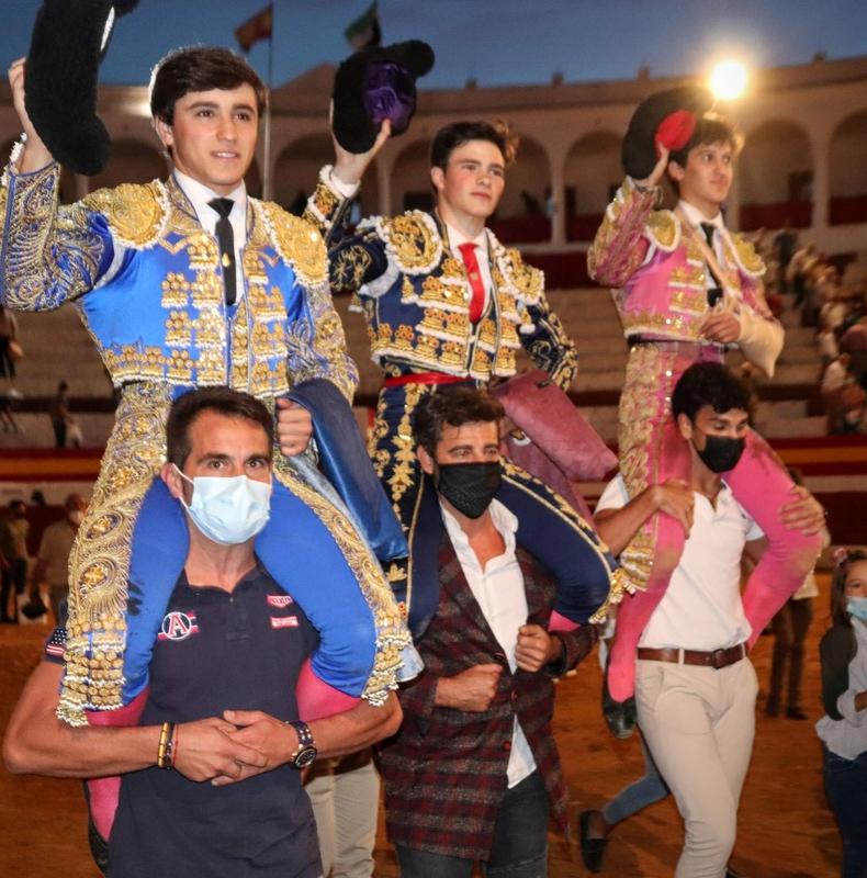 Tristán Barroso, triunfador del IX Certamen de Clases prácticas de Escuelas Taurinas Trofeo Diputación de Badajoz