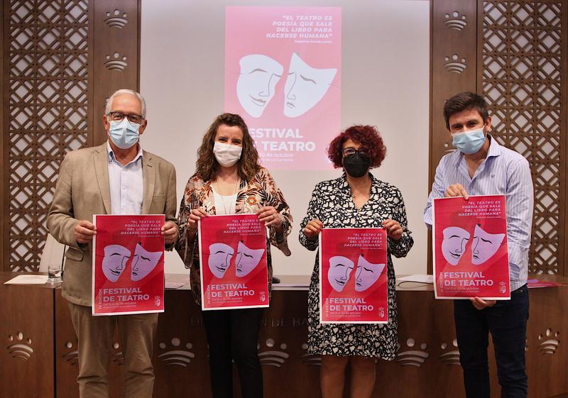 Siete representaciones componen el programa del IV Festival de Teatro de La Garrovilla