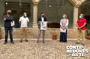 """La nueva edición del programa """"Contenedores de Arte"""" recuperará espacios públicos en desuso de Zarza de Granadilla y Zorita"""