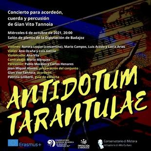 Erasmus+: conciertos y actividades pedagógicas en el Conservatorio Superior de Música