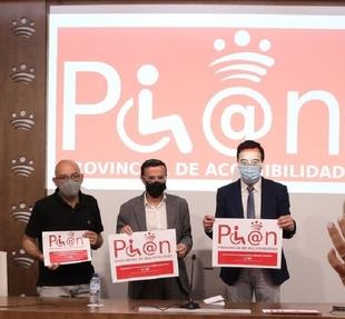 La Diputación de Badajoz concede más de un millón de euros para subvenciones en accesibilidad con la colaboración de Apamex