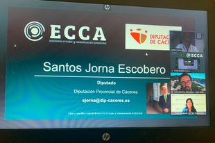 La Diputación de Cáceres presenta en el I Congreso Nacional de Economía Circular y Comunicación Ambiental su Red Circular FAB