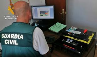 La Guardia Civil detiene a un vecino de Llerena por la comisión de tres robos en establecimientos públicos