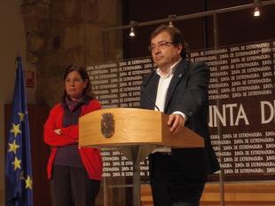 Vara espera que en el primer trimestre de 2016 Extremadura tenga su nuevo presupuesto aprobado