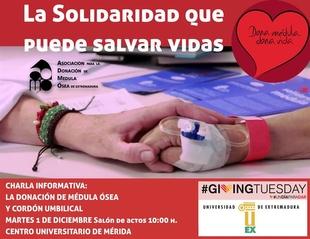 La Asociaci�n para la Donaci�n de M�dula �sea de Extremadura programa actividades de concienciaci�n en M�rida y Badajoz
