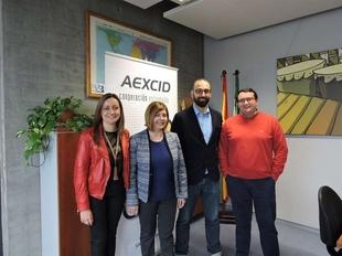 Aexcid, las diputaciones y la Fempex colaborar�n en acciones de cooperaci�n para el desarrollo