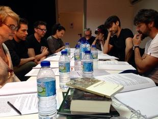El equipo de 'Alejandro Magno' realiza la primera lectura del libreto